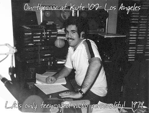 Jeff McNeal, L.A.'s only full time teen-aged radio personality.  Summer, 1979